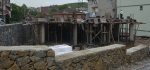 Orhangazi Semt konağı inşaatı hızla devam ediyor