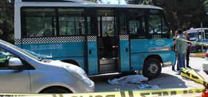 İndiği yolcu minibüsünün çarptığı yaşlı kadın öldü