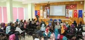 Yahyalılı kadınlara aile içi iletişim semineri