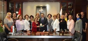 Emirdağlı kadınlardan Başkan Ataç'a ziyaret