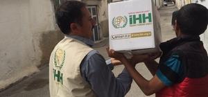 İHH Adıyaman'da Ramazan kumanyası dağıtımına başladı