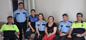 Mersin Emniyet Müdürlüğü, şehit ailelerini yalnız bırakmıyor