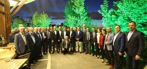 Başkan Kösemusul, TOBB Hizmet Şeref Madalyası Takdim Töreni'ne katıldı