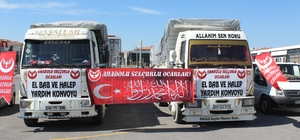 Malatya'dan El Bab ve Halep'e destek