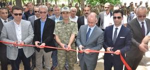 Kışlada askerler için yapılan tesislerin açılışı yapıldı
