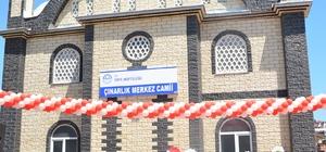 Çınarlık Camisi ibadete açıldı