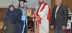 KMÜ Teknik Bilimler Meslek Yüksekokulunda mezuniyet coşkusu