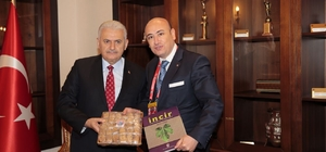 AYTO Başkanı Ülken'den Başbakan Binali Yıldırım'a Aydın inciri