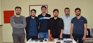 Düzce Üniversitesi mühendislerinden yıl sonu sergisi