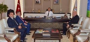 Vali İpek, Bakan Özhaseki ile yatırımları görüştü