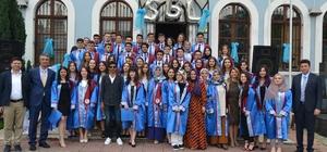 İbrahim Tanrıverdi SBL'de mezuniyet heyecanı