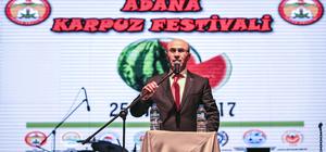 """Adana'da """"Karpuz Festivali"""""""