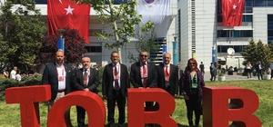 Kuşadası Ticaret Odası heyeti TOBB'un 73. genel kuruluna katıldı