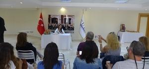 Yazar Ebru Güneş, KUTO'da söyleşi yaptı, imza gününe katıldı