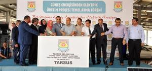 Tarsus Belediyesi güneş enerjisinden elektrik üretecek