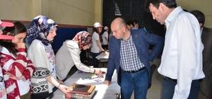 Belediye Başkanı Saraoğlu Tubitak Bilim Fuarına katıldı