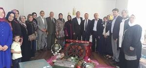 kçakoca'da Ahşap boyama kursu sergisi açıldı