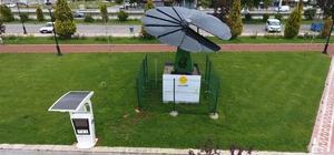 Parkta Akıllı Çiçek sistemi ile enerji üretiliyor