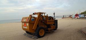 Büyükçekmece'nin plajları yaz mevsimine hazır
