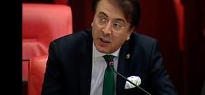 Milletvekili Aydemir BB. Erzurumspor coşkusunu TBMM'ye taşıdı