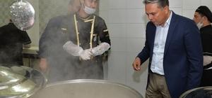 Başkan Uysal, Aş Evini inceledi