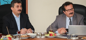 Van'da 'Güçbirliği Platformu Sağlık İhtisas Komisyonu' toplantısı