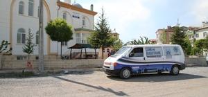 Beyşehir'de ramazan öncesi camilerde mobil temizlik dönemi