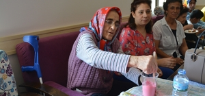 Söke Halk Eğitim Merkezinden yaşlıları kucaklayan proje