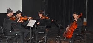 Quartet konseri kulakların pasını sildi