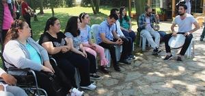 Engelsiz Hobi Kurslarında karne heyecanı