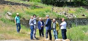 Belediye Başkanı Saraoğlu, Gediz Termal Tatil Köyü'ndeki çalışmaları inceledi