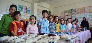 Tatvanlı öğrencilerden yılsonu sergisi