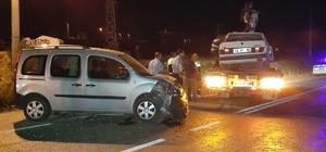 Milas'ta trafik kazası: 3 yaralı