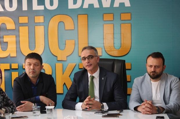 AK Parti Gebze İlçe Başkanı Hasan Soba, basın ile bir araya geldi