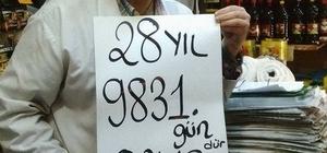 Gölcüklü esnaf 28 yıl 9 bin 831 gündür oruç tutuyor