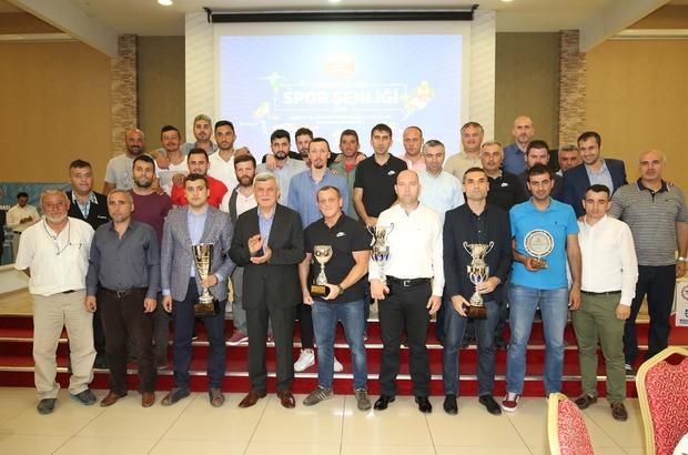 Başkan Karaosmanoğlu, dereceye giren sporcuları ödüllendirdi