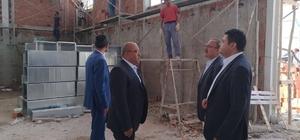 Kaymakam Avcı, inşaat çalışmalarını denetledi