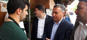 AK Parti teşkilatından Sur esnafına ziyaret