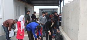 Muş'ta 20 yabancı uyruklu yakalandı