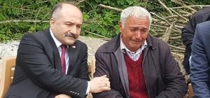 Erhan Usta'dan şehit ailesine taziye