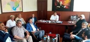 Milletvekili Fırat bir dizi ziyaret gerçekleştirdi
