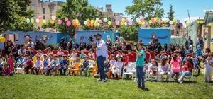 İHH'nın Kilis'teki Anaokulu ilk mezunlarını verdi