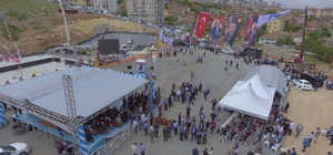 Sosyal Yaşam Merkezinin temel atma törenine Bakan tüfenkçi de katıldı