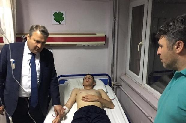 Başkan Çerçi'den tedavi gören askerlere ziyaret