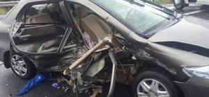 Konya'da 2 otomobil çarpıştı: 1 ölü, 3 yaralı