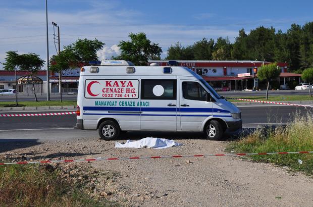 Ekmek almaya giderken kamyon çarptı