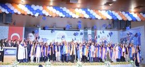Hitit Üniversitesi'nde mezuniyet coşkusu