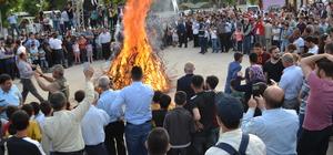 """Ramazan ayını """"Melede"""" ateşi ile karşıladılar"""