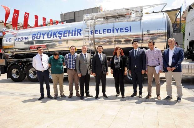 Başkan Çerçioğlu büyükşehirin yeni araç filosunu tanıttı