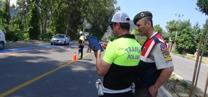 Ortaca'da polis ve jandarmadan ortak uygulama